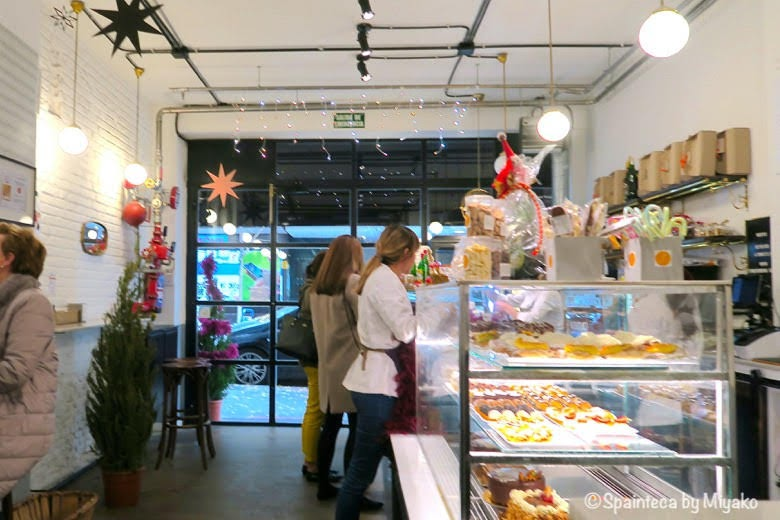 Formentor マドリードの菓子パン屋さんフォルメントルの店内