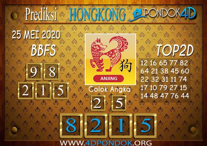 Prediksi Togel HONGKONG PONDOK4D 25 MEI 2020