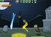 Juego Plantas contra zombies magico