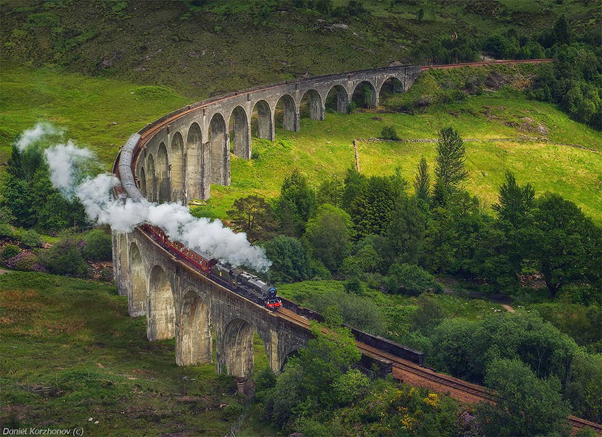 Glenfinnan Viduct, Scotland - 20 Mystical Bridges That Will Take You To Another World