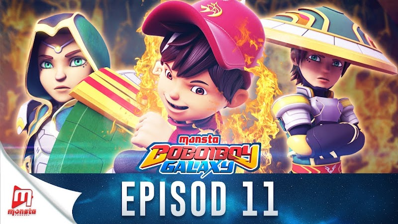 BoBoiBoy Galaxy Episode 11 - Pertarungan Hangat