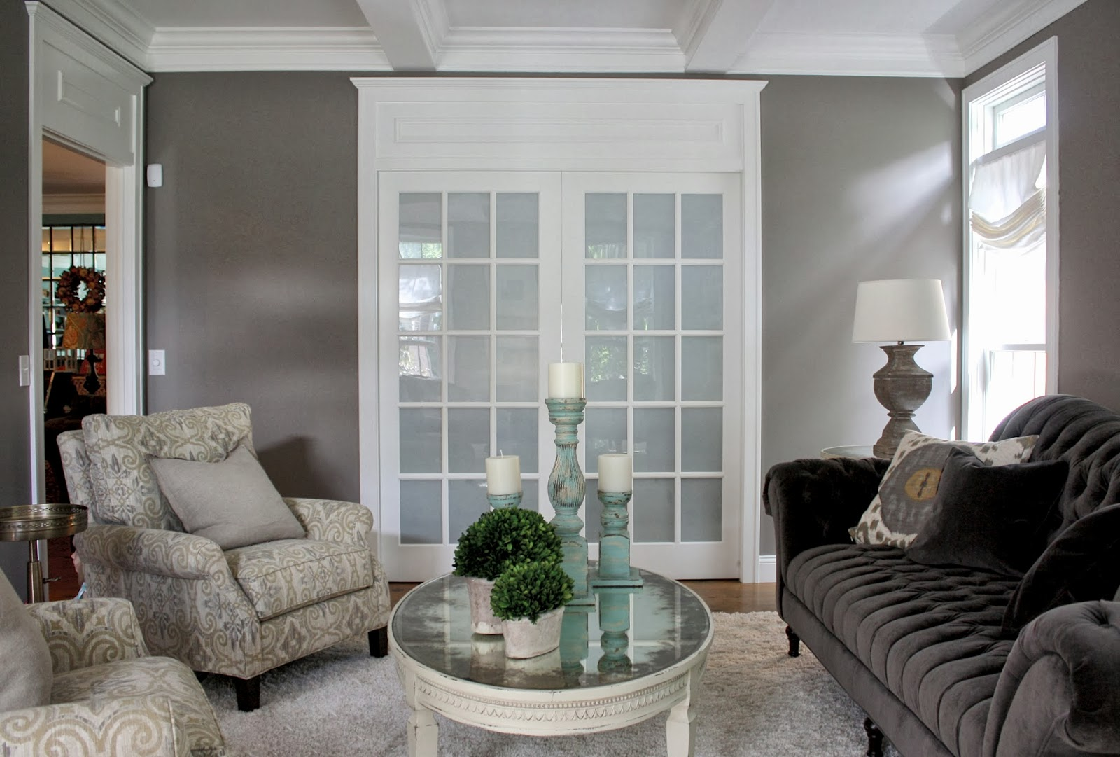 beforeafter living room makeovera design plan comes to life - Cape Cod Living Room