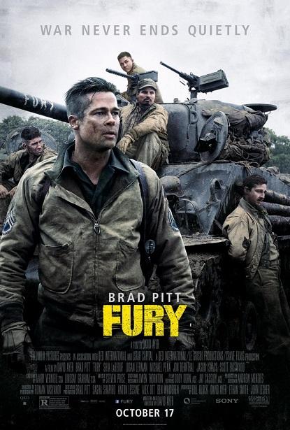 تماشای آنلاین فیلم خشم 2014 Fury به صورت دوبله فارسی