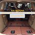 Mẫu thảm lót sàn Kia Sedona cao cấp lắp thực tế