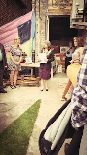 Purbeck Artisan Yard Grand Opening with Mayor of Wareham
