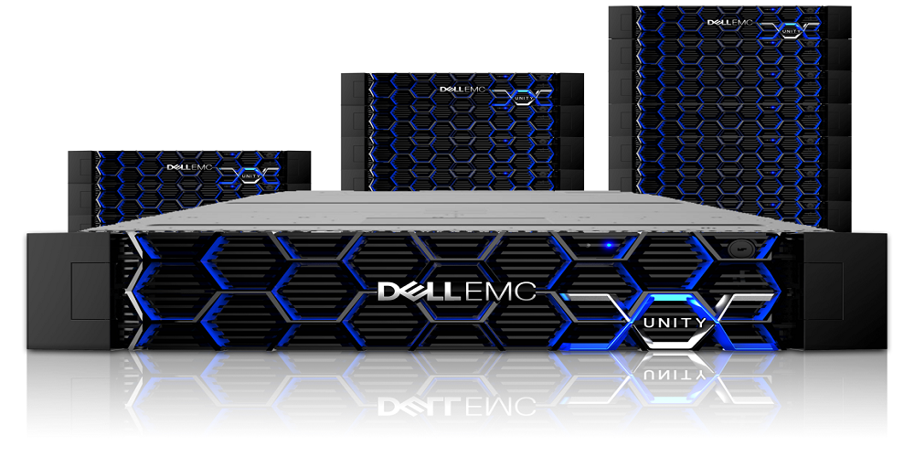 New Dell EMC Unity OE 4 4 Blends Midrange Vision with