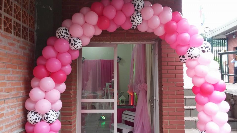 Fiestas personalizadas ideas de decoraci n de granja para - Decoracion para nina ...