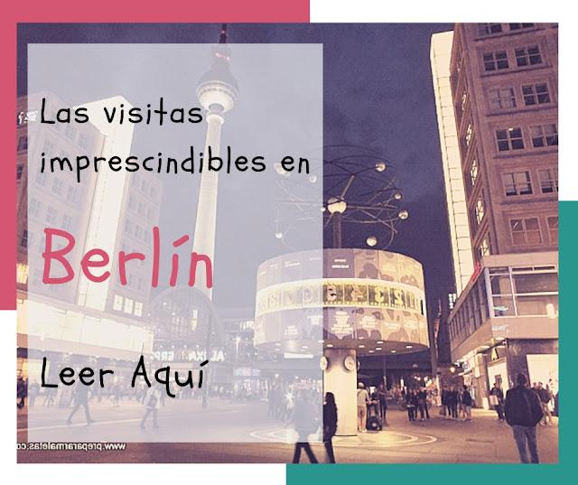 visitas imprescindibles en Berlín