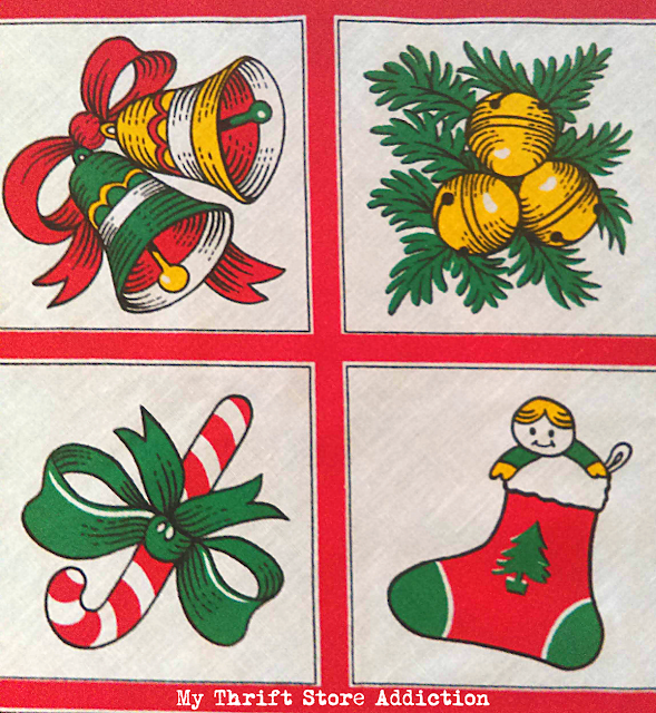 Christmas linens and aprons
