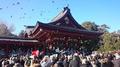 鶴岡八幡宮 節分祭