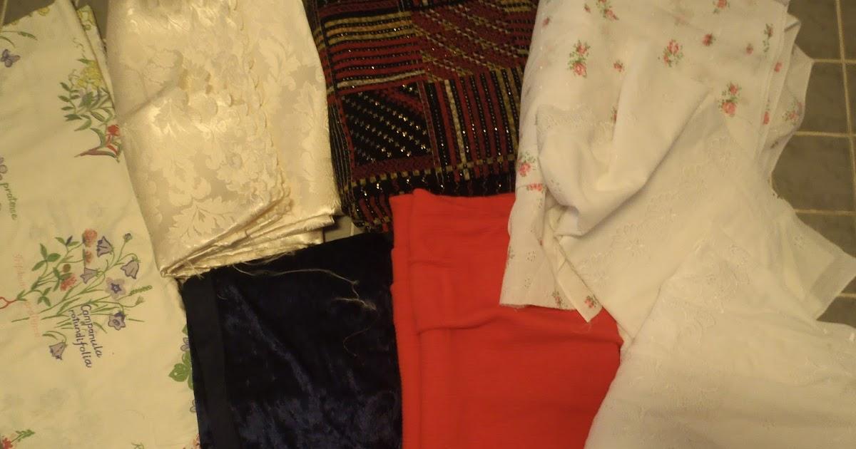 Äiti Jellonan laumalle: Kankaan värjäystä ja kaupasta ostetun paidan pikatuunaus.