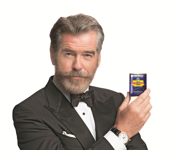 PAN BAHAR PRESENTS PATH BREAKING CAMPAIGN WITH PIERCE BROSNAN IN THE LEAD!
