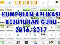 Download Kumpulan Aplikasi Kebutuhan Guru 2016-2017