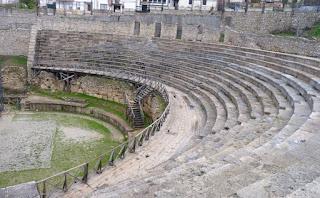 Anfiteatro de Ohrid.