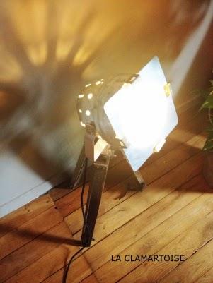 décoration vintage : faire une lampe vintage