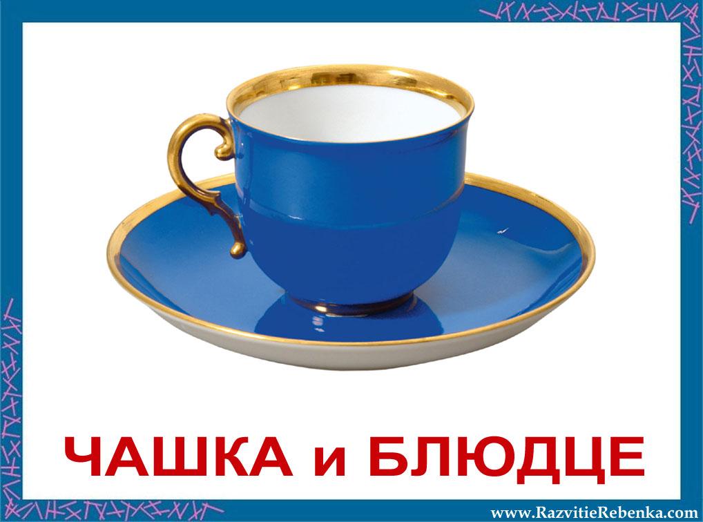 РАЗВИТИЕ РЕБЕНКА: Карточки Посуда и Столовые приборы