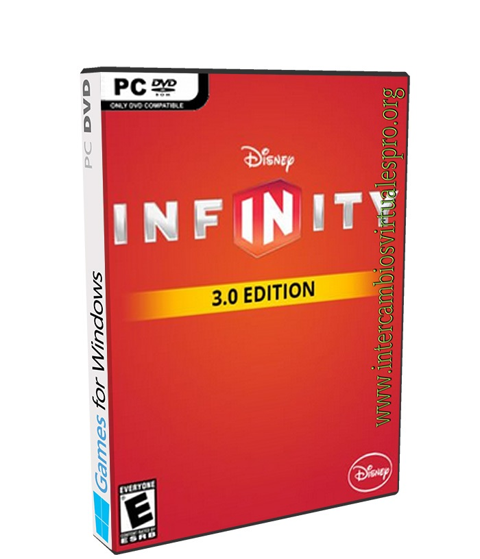 DISNEY INFINITY 3.0 GOLD EDITION poster box cover