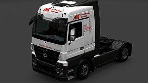 Ait Trans for Mercedes Actros 2009
