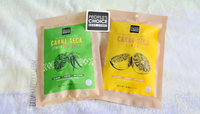 The traditional Carne Seca line from People's Choice Beef Jerky includes bold, lemon-infused flavors such as limon and spicy limon con chile.