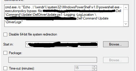 Automated Dell Command Update ~ Mick's IT Blogs