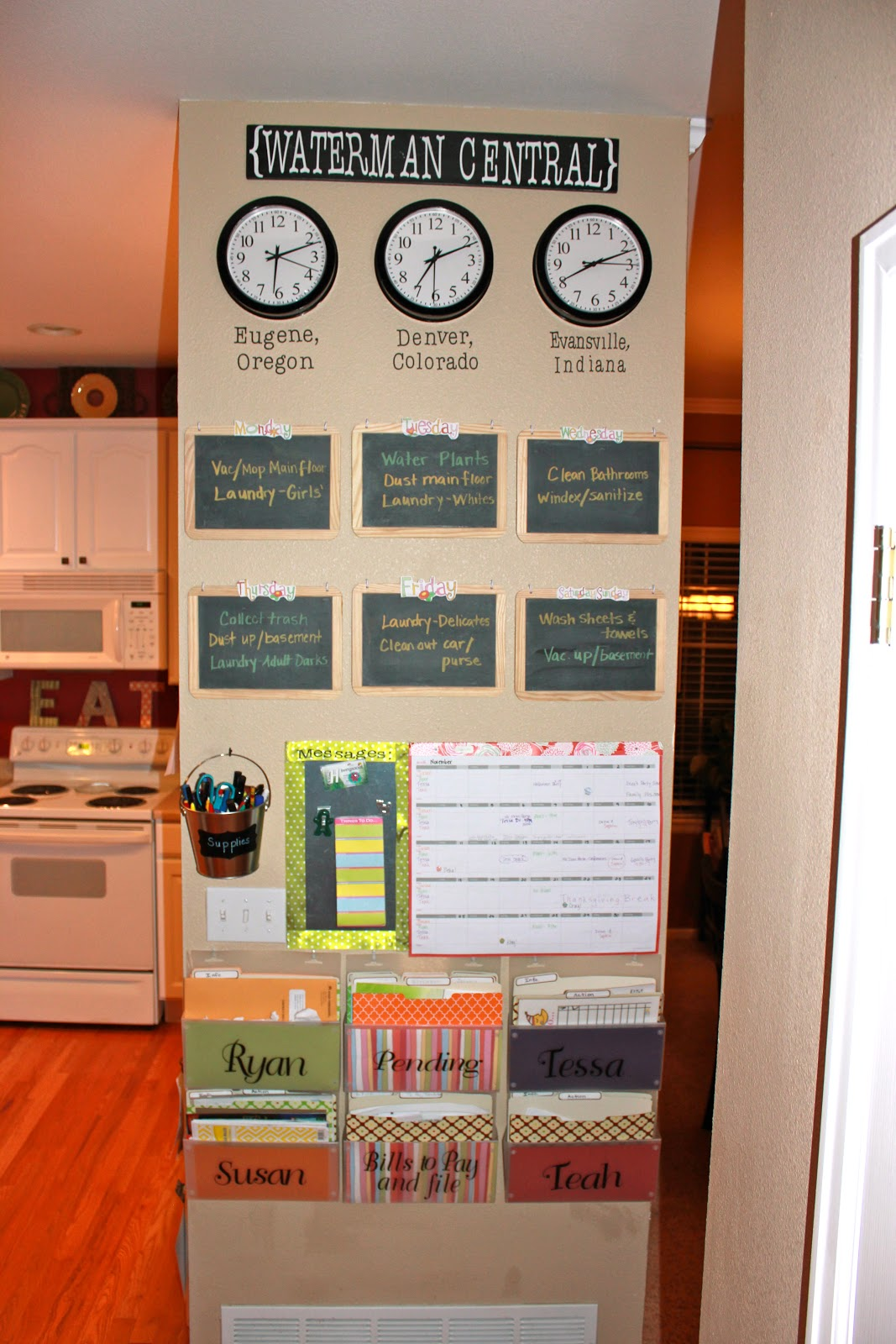 Achieving Creative Order Project Home Management Binder