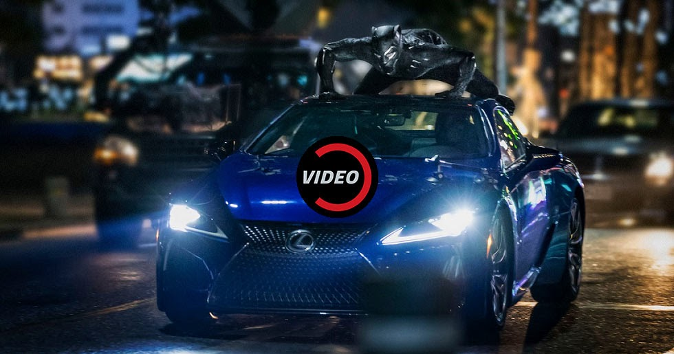 2018 Lexus Lc To Be Featured In The Black Panther Movie