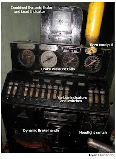 Control Panel on GM EMD G12 Class M2c Montreal