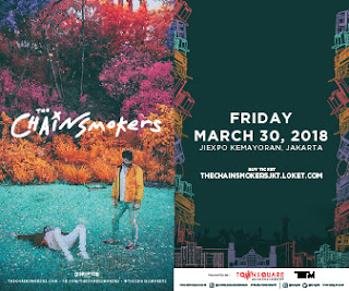 The Chainsmokers Live in Jakarta