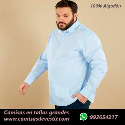 Camisas tallas grandes Moquegua