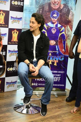 Do you know the mantra of fitness for 'A Flying Jatt'-  Tiger Shroff