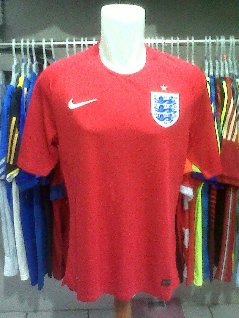 Jersey England Away Piala Dunia 2014