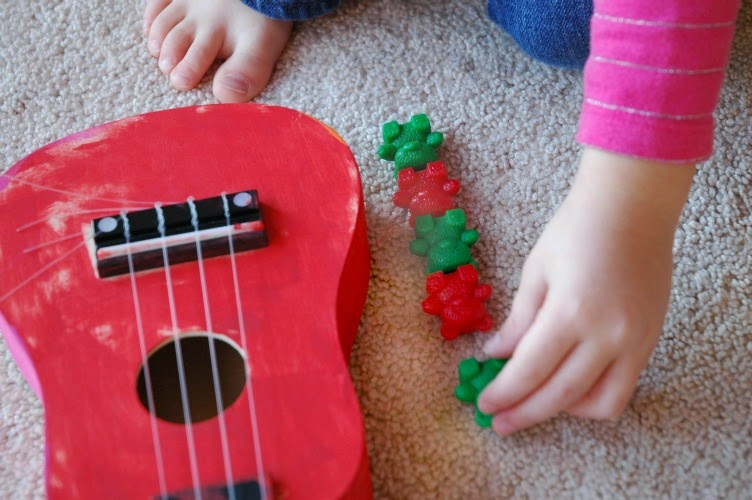 Play and Learn with Counting Bears for Toddlers, Preschoolers, and Kindergarteners