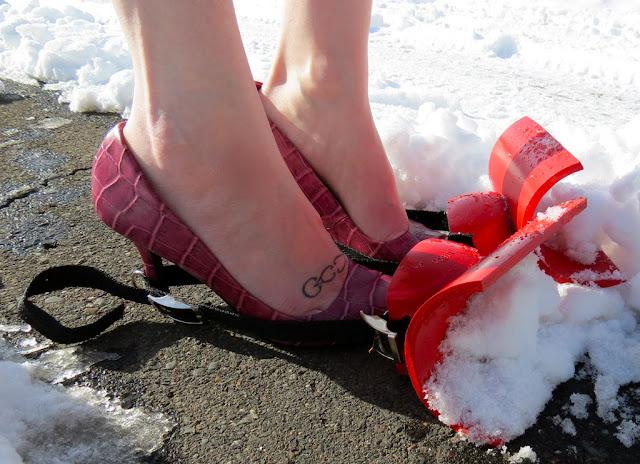 Quitanieves zapatos