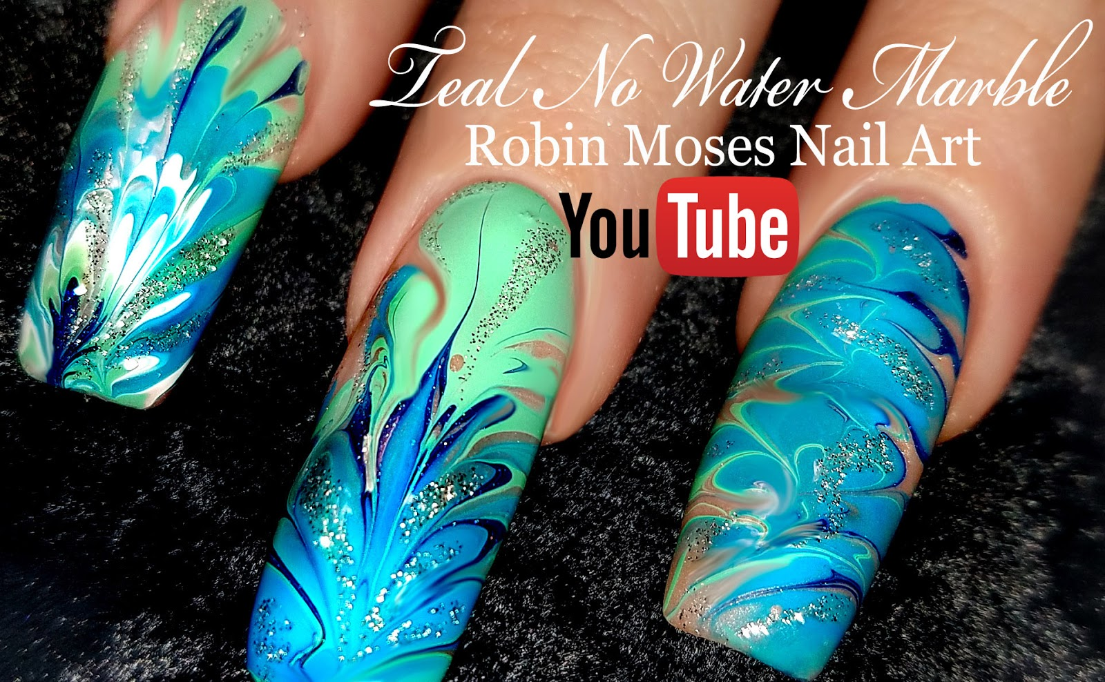 Robin moses nail art no water needed mint mani diva diy drag no water needed mint mani diva diy drag marble nail art tutorial prinsesfo Gallery