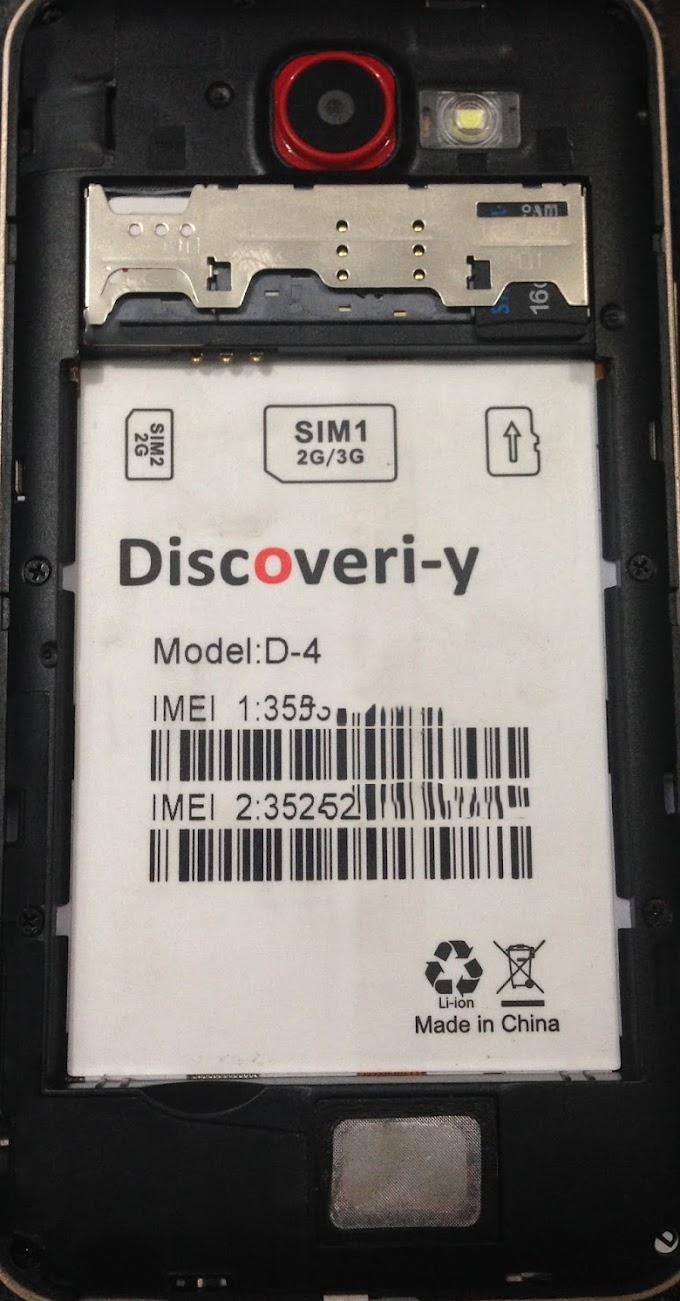 DISCOVERI-Y D-4 FLASH FILE MT6572 FIRMWARE
