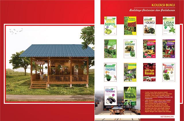 Buku Budidaya Pertanian dan Perkebunan Untuk Perpustakaan Desa