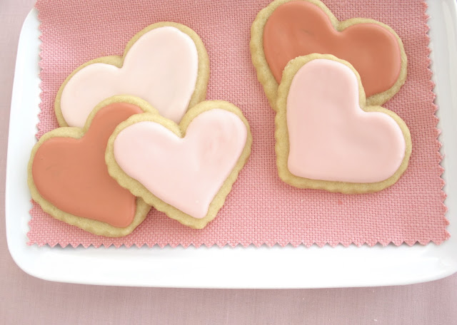 ... Hobick: Valentine's Day Sugar Cookies | Heart Sugar Cookies | Recipe