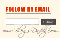 "Styles For ""Follow By Email"" Gadget In Blogger"
