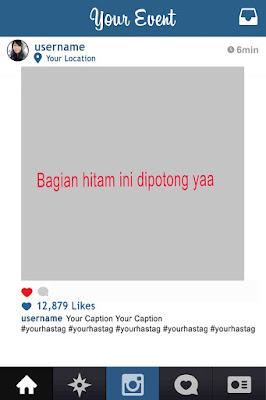 frame instagram