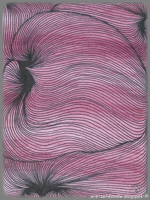 Zendooddle, zen doodle, zentangle, motif