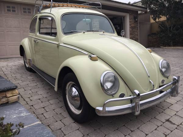 1964 Volkswagen Beetle Numbers Matching