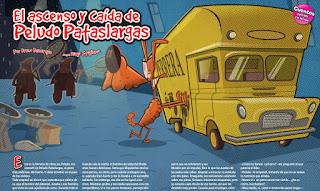 El ascenso y caída de Peludo Pataslargas, publicado en Billiken