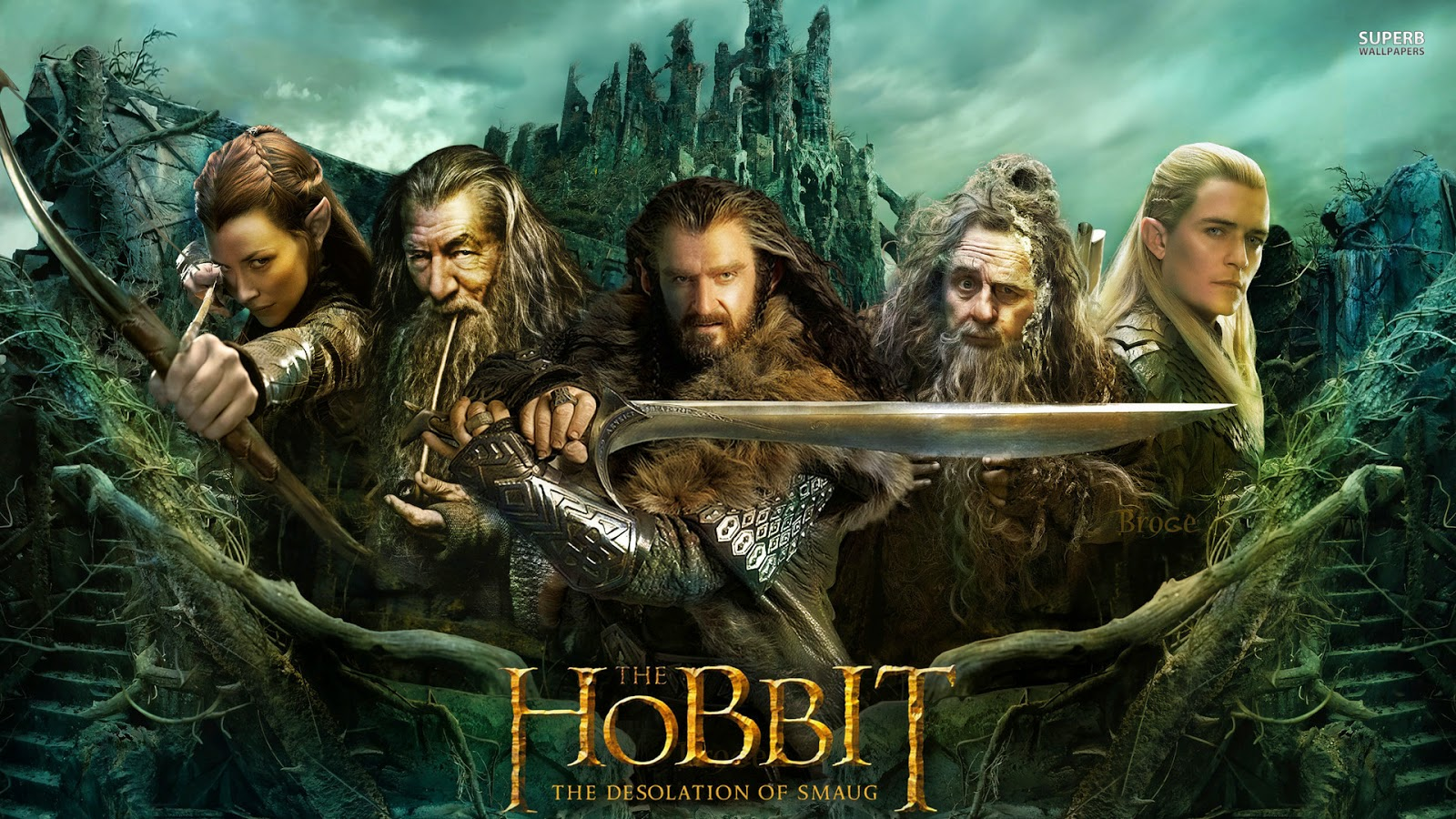 Download The Hobbit The Desolation of Smaug (2013) BluRay 720p