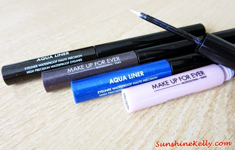 Make Up For Ever Aqua Collection 2014, Make Up For Ever, Aqua Collection 2014, Aqua Smoky Extravagant, Aqua Cream, Aqua Lip, Aqua Liners, Aqua Rouge, Mist & Fix, waterproof makeup, smudge proof makeup, crease proof makeup