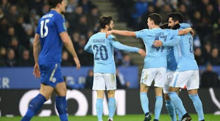 Leicester City vs Manchester City - Video Gol Highlights.