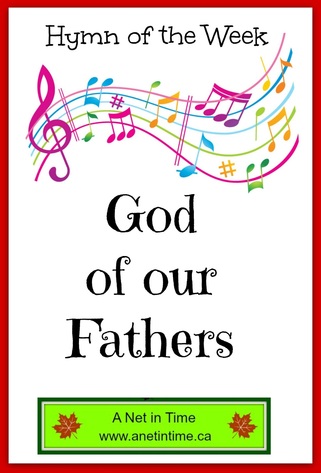 Hymn study god of our fathers a net in time heres an hymn that is oft sung in our church it is a hymn written to help celebrate a national holiday but speaks much to gods care for his people and thecheapjerseys Gallery