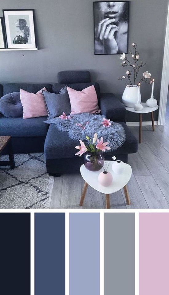 warna cat interior rumah minimalis