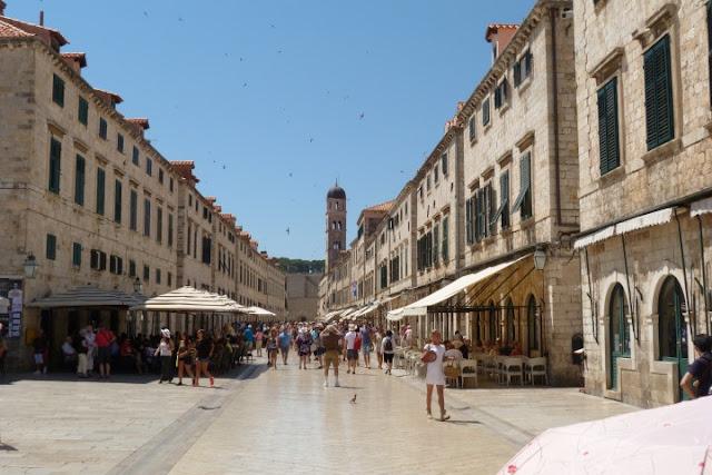 Dubrovnik, hoofdstraat