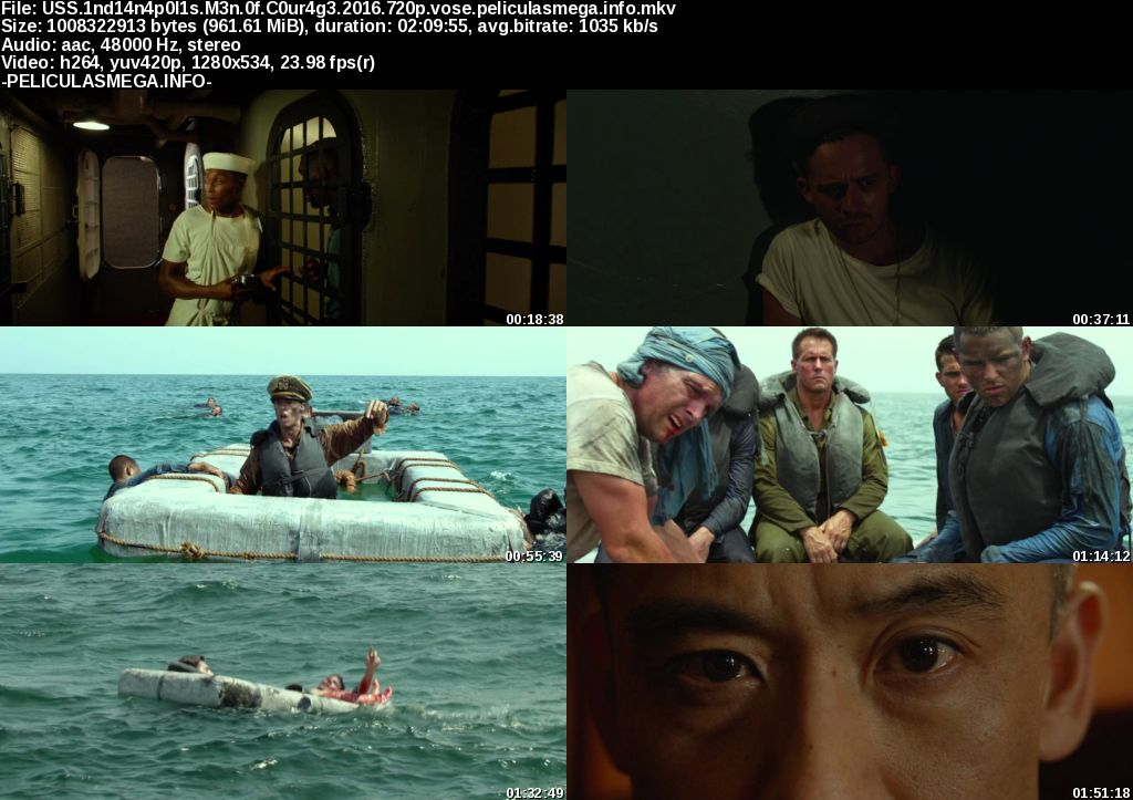 Descargar USS Indianapolis: Men of Courage Subtitulado por MEGA.