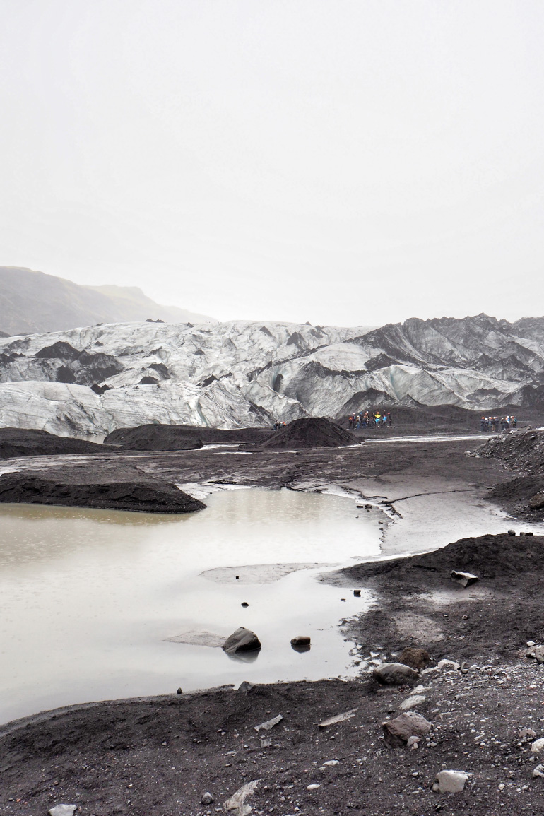 Glacier de Sólheimajökull en Islande